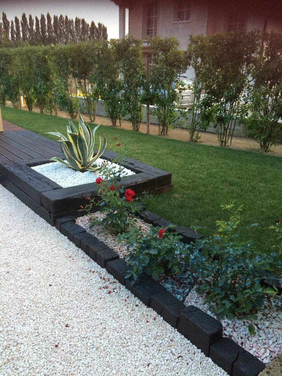 Bordura di giardino privato dese legnami for Bordura giardino