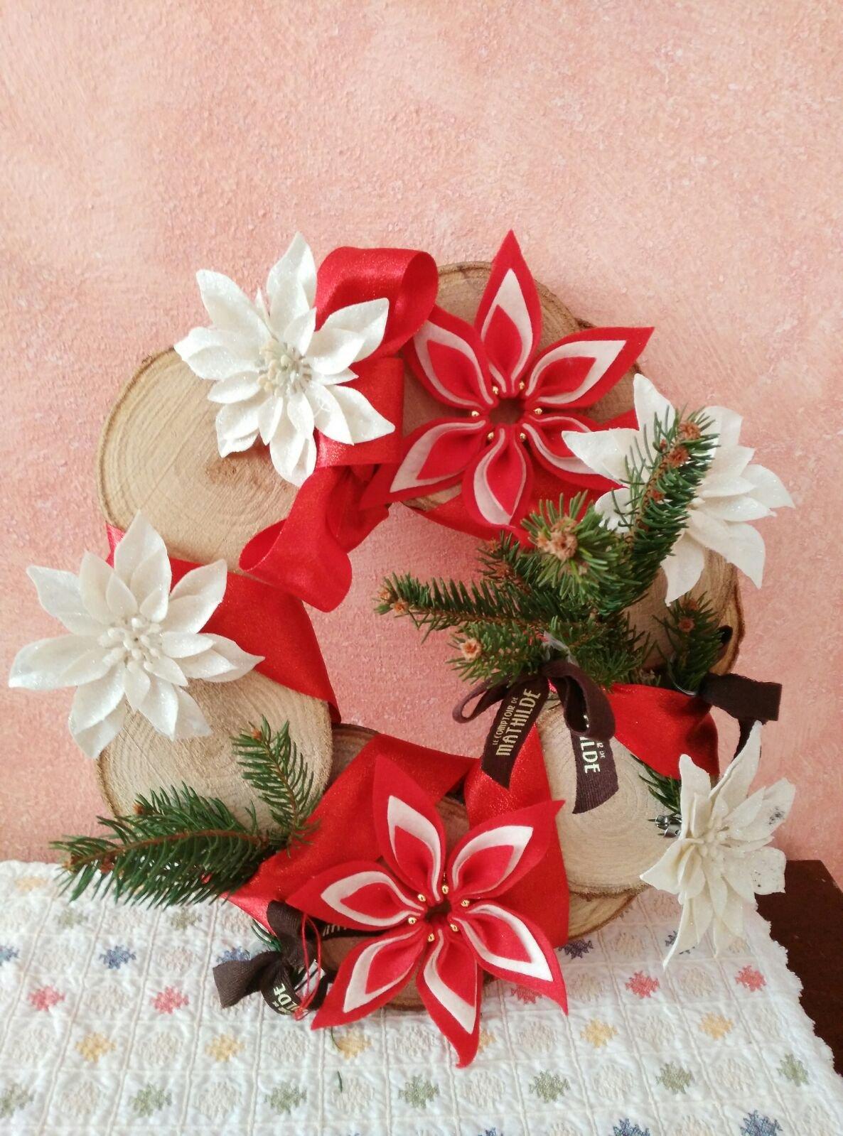 Creare Addobbi Natalizi In Feltro.Decorazioni Di Natale Dese Legnami