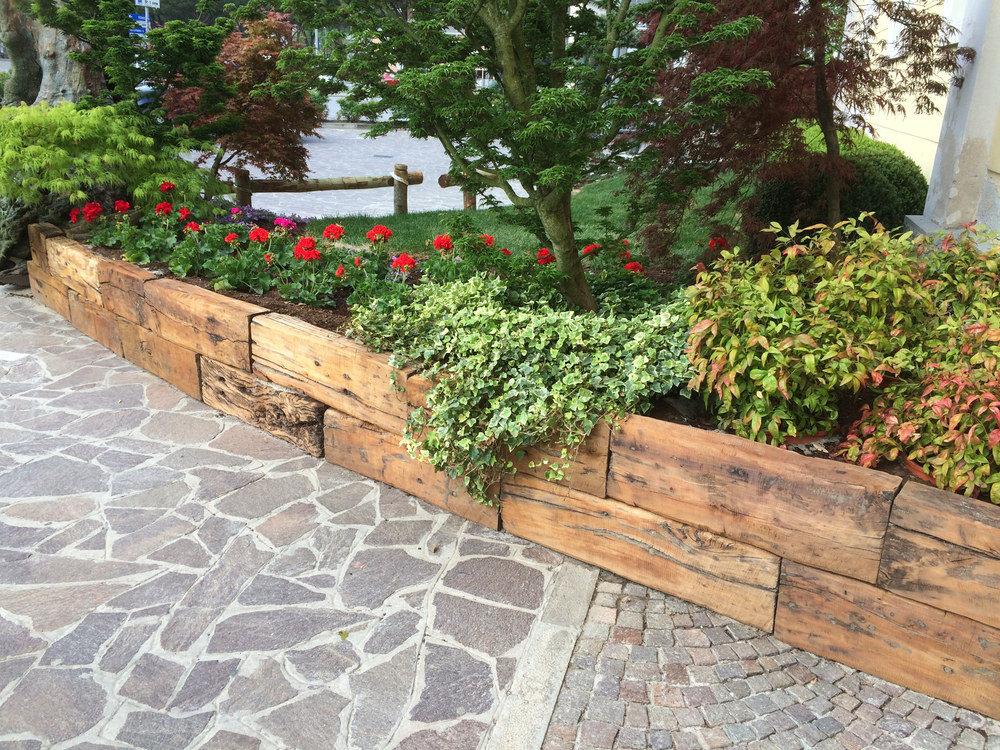 recinzione di aiuole dese legnami